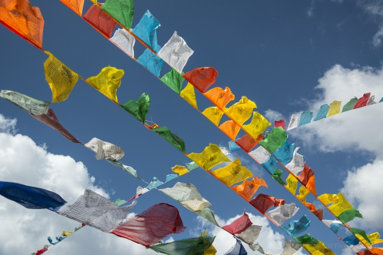 Prayer Flags, Bhutan