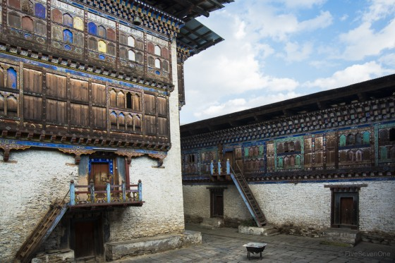Abandoned Palace in Bumthang, Bhutan