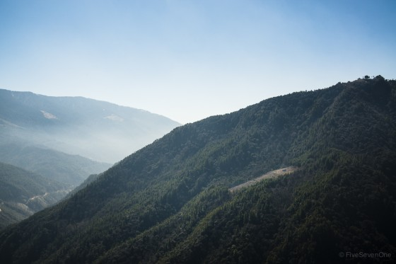 Road to the Haa Valley, Bhutan